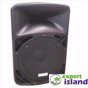 """Crazy LOUD Volume 15"""" 1400 Watt 2-Way Rechargeable Bluetooth PA Powered Speaker with 2 Mics Built in Battery"""