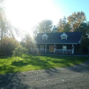 NEW PRICE!!! Country Chalet Located in MacDowall, Saskatchewan
