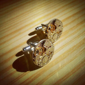 Steampunk Cufflinks for sale: perfect gift