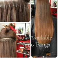 Lina's Locks Hair Extensions- Nano, Fusion, Microlink, Tape