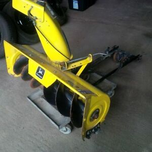 "John Deere 42"" Snow Thrower Attachment"