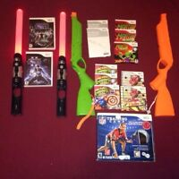 Many Accessories For WII Light Saber Zumba NHL SLAP SHOT Wii Fit