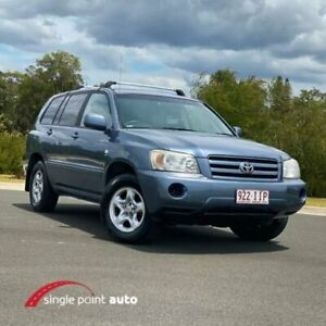 2004 Toyota Kluger MCU28R CV AWD Blue 5 Speed Automatic Wagon Chevallum Maroochydore Area Preview