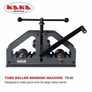 Kaka Industrial TR-60 Manual Tube Pipe Roller Bender