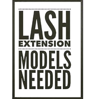 CLASSIC LASH EXTENSION MODELS NEEDED