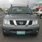 2013 Nissan Navara D40 S7 MY12 RX 4x2 Grey 5 Speed Automatic Utility Bungalow Cairns City Preview