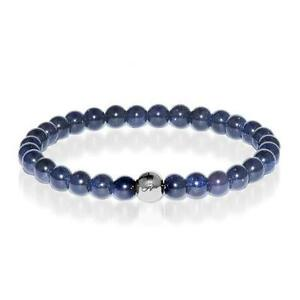 50% OFF All Jewellery - Energy | Silver Essence Blue Sand Stone Bracelet