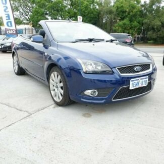 2007 Ford Focus LT Coupe Cabriolet Blue 4 Speed Sports Automatic Convertible St James Victoria Park Area Preview