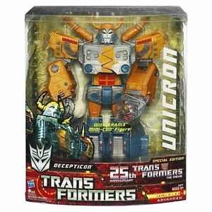 New Hasbro Transformers 25th Anniversary Unicron with Kranix