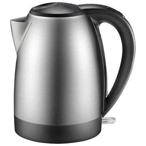 Insignia Electric Kettle - 1.7L - Stainless Steel, Like New in B