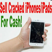 Cash for Damaged iPhones and iPads!