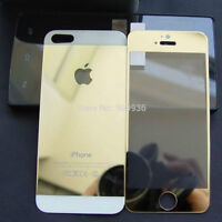 Crystal Rhinestone Case + Gold Tempered Glass for iPhone 6