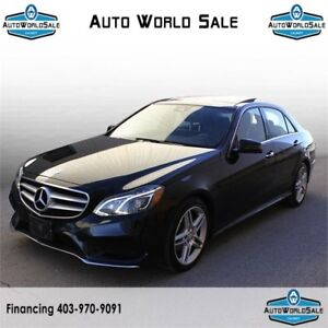 2014 MERCEDES E350| AMG PACK| NAVI| PANO ROOF|