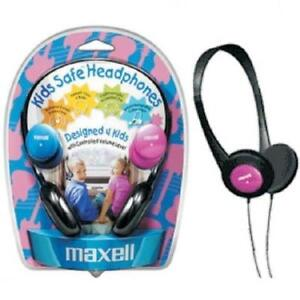 Maxell Kids Safe Headphones - Designed 4 Kids - 3 5mm - 4ft Cord