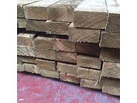 🌟 Wood (4 x 2) 100 x 47mm @ 3.6m Pressure Treated