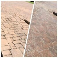 UNISTONE MAINTENANCE - RE-LEVEL/POLYMER SAND/SEAL 514-967-6650