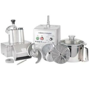 Robot Coupe R602V Combination Continuous Feed / Batch Bowl Food . *RESTAURANT EQUIPMENT PARTS SMALLWARES HOODS AND MORE*