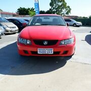 2004 Holden Ute VY II S Red 4 Speed Automatic Utility St James Victoria Park Area Preview