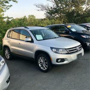 2012 Volkswagen Tiguan Highline w/leather/bluetooth/heated seats