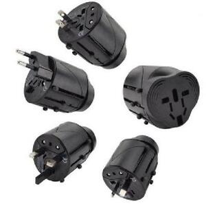 All-In-One Universal Travel Wall Charger Adapter Plug AU/UK/US/E