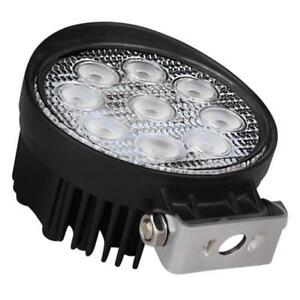 "4"" 27W Round/Square Flood LED Work Lamp For Sale"