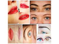 SPECIAL OFFER on Semi Permanent make up treatments only £100!!