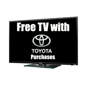 FREE TV with Toyota Purchases!