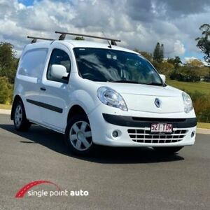 2011 Renault Kangoo F61 White 5 Speed Manual Van Chevallum Maroochydore Area Preview