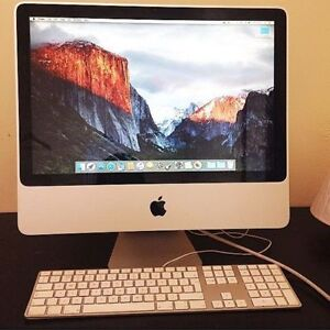 "20"" iMac 2.6GHz/4GB RAM/320GB HDD/OS EI Captain 10.11.6"