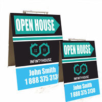 Sandwich Board - Real Estate Sign Printing