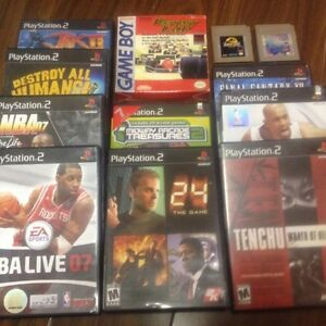 ps2 and ps2 games for sale