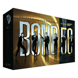 James Bond 22 movie blu-ray collection