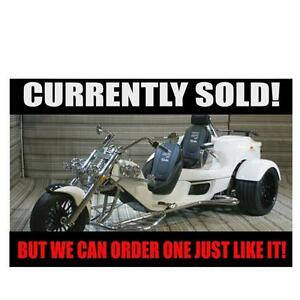 2017 REWACO RF2 ST-2 TOURBACK TURBO AUTOMATIC TRIKE - SOLD!!