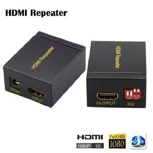 Speedex HDMI HDTV Repeater - 40M Signal Amplifier - Booster Adap