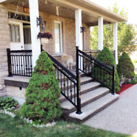 Fence railing column gate FACTORY DIRECT DEEP DISCOUNT Brampton