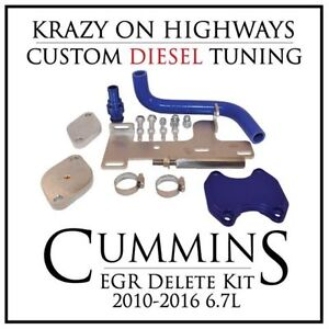 Dodge Cummins EGR Delete Kit (2010-2016 6.7L)