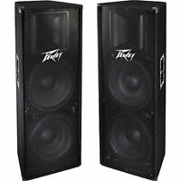 "PV 215 Speakers - Dual 15"" 2 Way Speaker Cabinets - New Price!"