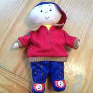 Caillou toys, puzzles, & books