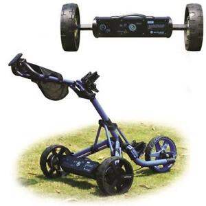 Alphard eWheels - Turn your push golf cart into an electric cart - Factory Refurbished