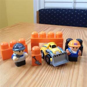Mega Bloks Lego Construction Vehicles and Building Sets