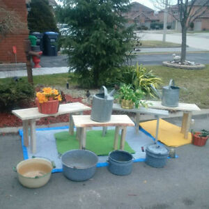 BENCHES PLANTERS AND DECOR*** See Each Item Price **