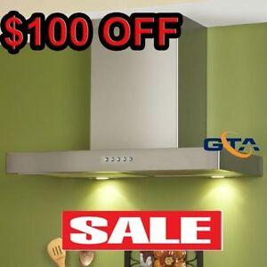 Chimney Wall Mount Range Hood Kitchen Exhaust fan $399 only