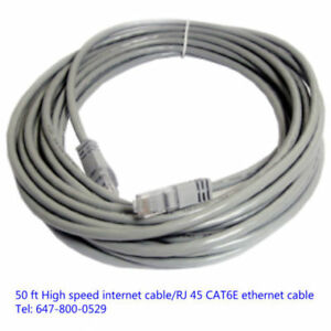 50ft or 100ft high speed ethernet cable/cable coupler ---ON SALE
