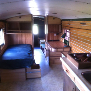 Motorhome (schoolbus Conversion) Small House?