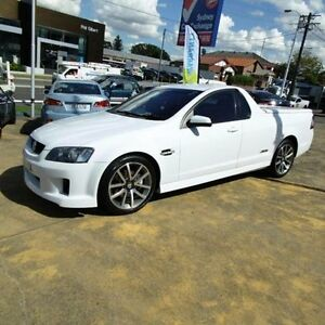 2010 Holden Commodore VE MY10 SS White 6 Speed Automatic Utility Croydon Burwood Area Preview