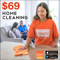 Home Cleaning in Toronto - Only $69 - Same Day or in 24 Hours