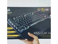 Corsair K65 LUX RBG Rapid-fire (2016) Latest Model Gaming Keyboard