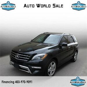 2015 Mercedes Benz ML 350-Bluetech|4matic|Low km