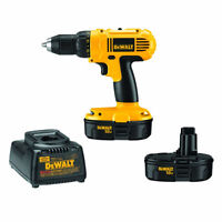 Dewalt Compact Drill 18 Volt with 2 batteries and a charger