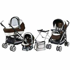 Peg-Perego Switch Compact Stroller+car seat +diaper bag